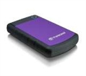 "TS1TSJ25H3P, Твърд диск Transcend StoreJet 25H3 USB 3.0 2.5"" 1TB (SATA), Rubber Case, Anti-Shock, Purple -- снимка"