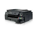 MFCJ200YJ1, Inkjet Multifunctional BROTHER MFCJ200, Print/Copy/Scan/Fax, up to 11 mono/6 colour ipm, High-yield catridge 2400mono/1300colour, ADF -- снимка