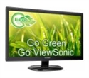 "VA2465SH, Viewsonic VA2465SH 24"" 16:9 (23.6""), 1920x1080 SuperClear MVA LED, 5ms, 250 nits, VGA and HDMI, H 178 / V 178 -- снимка"