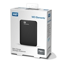 WDBUZG7500ABK, HDD 750GB USB 3.0 Elements Portable Black -- снимка