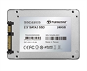 "TS240GSSD220S, Твърд диск Transcend 240GB 2.5"" SSD SATA3 TLC, read-write: up to 550MBs, 450MBs, Aluminum case -- снимка"