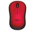 910-004880, Logitech Wireless Mouse M220 Silent, red -- снимка