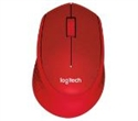 910-004911, Logitech Wireless Mouse M330 Silent Plus, red -- снимка