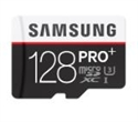 MB-MD128DA/EU, Samsung 128GB micro SD Card PRO+ with Adapter, Class10, UHS-1 Grade1, Read 95MB/s - Write 90MB/s -- снимка