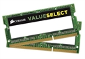 CMSO4GX3M2A1333C9, Памет Corsair DDR3, 1333MHz 4GB (2X2GB) 2x204 SODIMM, Unbuffered -- снимка