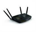 NBG6817-EU0101F, ZyXEL NBG6817 ARMOR Z2, Simultaneous Dual-Band MU-MIMO Wireless AC2600 Media Router, 802.11ac (800Mbps/2.4GHz+1733Mbps/5GHz), back -- снимка
