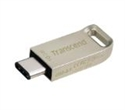 TS16GJF850S, Флаш памет Transcend 16GB JetFlash 850 USB 3.1 Type-C On-The-Go for ANDROID, Silver -- снимка