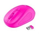 21923, TRUST Primo Wireless Mouse - Pink -- снимка