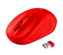 22138, TRUST Primo Wireless Mouse - Red -- снимка