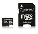 TS16GUSDHC10U1, Transcend 16GB micro SDHC UHS-I Ultimate (with adapter, Class 10) -- снимка