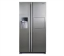 RS7577THCSP/EF, Samsung RS7577THCSP, Refrigerator, Side by Side, 530l, Ice Maker, Twin Cooling, Water Dispenser, Mini Bar, A+, Inox -- снимка