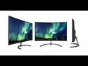 "328E8QJAB5, Монитор Philips 31.5"" Curved Full HD 1920 x 1080 5ms 250cd/m2 20M:1 VGA, DP, HDMI, Speakers -- снимка"