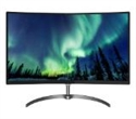 "278E8QJAB/00, Philips 278E8QJAB, 27"" Curved Wide VA LED, 4 ms, 20M:1 DCR, 250 cd/m2, 1920x1080 FullHD, D-Sub, HDMI, DP, Speakers, Black -- снимка"