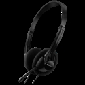 PC headset with microphone, volume control and adjustable headband, cable 1.8M, Black -- снимка