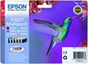 C13T08074011, MULTIPACK EPSON Six-pack Ink Cartridges for Stylus Photo R265/285/360, RX560, PX700W, PX800FW/RX585, P50 -- снимка