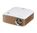 PH150G, LG PH150G Portable MiniBeam Projector, Built-in type to 2.5 hour battery life, RGB LED, LCoS, HD (1280x720), 100 000:1, 130 ANSI Lumens, HDMI -- снимка