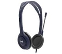 981-000734, Logitech Wired 3.5mm Headset with Mic - Midnight blue -- снимка