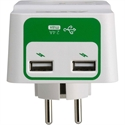 PM1WU2-GR, APC Essential SurgeArrest 1 Outlet 230V, 2 Port USB Charger, Germany -- снимка