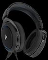 CA-9011172-EU, Слушалки с микрофон Corsair Gaming HS50 STEREO Gaming Headset, Blue, 50mm neodymium speaker drivers (EU Version) -- снимка