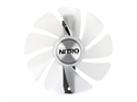 4N001-03-20G, Вентилатор за видео карта Sapphire NITRO GEAR LED FAN (WHITE) LITE, Supported Models: Sapphire Nitro+ RX580/570/480/470 Series/Nitro -- снимка
