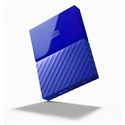 WDBS4B0020BBL, HDD 2TB USB 3.0 MyPassport (THIN) Blue (3 years warranty) NEW -- снимка
