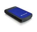 "TS4TSJ25H3B, Твърд диск Transcend 4TB StoreJet 25H3 USB 3.0 2.5"" Rubber Case, Anti-Shock, Blue -- снимка"