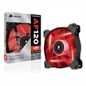 CO-9050015-RLED, Вентилатор за кутия Corsair Air Series AF120 LED Quiet Edition High Airflow Fan, 120mm x 25mm, Single Pack, Red -- снимка