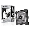 CO-9050015-WLED, Вентилатор за кутия Corsair Air Series AF120 LED Quiet Edition High Airflow Fan, 120mm x 25mm, Single Pack, White -- снимка
