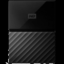 HDD External WD My Passport (2TB, USB 3.0) Black -- снимка