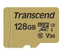 TS128GUSD500S, Transcend 128GB microSD UHS-I U3 (with adapter), MLC -- снимка