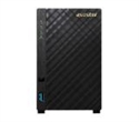 AS1002TV2, Asustor AS1002T v2 2 bay NAS, New Marvell ARMADA-385 Dual Core, 512MB DDR3, GbE x1, USB 3.1 Gen-1, WOL, System Sleep Mode -- снимка