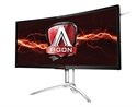 "AG352UCG, Монитор AGON 35"" 100Hz MVA 3440x1440 16:9 NVIDIA G-SYNC 300cd 4ms, HDMI, DP, Speakers, Ultra Narrow Bezel -- снимка"