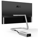 "PDS271, Монитор AOC Porsche Design 27"" IPS 1920x1080 16:9 250cd 50M:1 4ms HDMI Borderless, 3 years -- снимка"