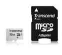 TS32GUSD300S-A, Памет Transcend 32GB UHS-I U1 microSDHC I, Class10 with Adapter, read: up to 95MBs, 45MB/s -- снимка