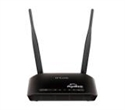 DIR-605L/HU, Wireless N Cloud Router w/ 4 Port 10/100 Switch маршрутизатор 300 мегабитов с 5 децибелови антени -- снимка