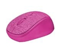 22674, TRUST Yvi Fabric Wireless Mouse - pink -- снимка