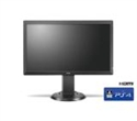 "9H.LHJLB.QBE, BenQ Zowie RL2460S, 24"" TN, 1ms GTG, 1000:1, 12M:1 DCR, 250 cd/m2, 1920x1080, VGA, DVI, HDMI x3, Headphone jack, Speakers 2x2W, Height -- снимка"