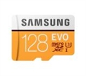 MB-MP128GA/EU, Samsung 128GB micro SD Card EVO with Adapter, Class10, Read 100MB/s - Write 90MB/s -- снимка