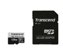 TS128GUSD330S, Памет Transcend 128GB microSDXC I UHS-I U3, V30, A2 for (4K Ultra HD recordings and game consoles) Class10 with Adapter, read-write: -- снимка