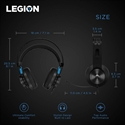 GXD0T69863, Lenovo Legion H300 Stereo Gaming Headset Black -- снимка
