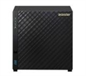 "AS3204T, Asustor AS3204T, 4-bay NAS, Intel Celeron Quad-Core J3160 ( up to 2.24GHz, 2MB), 2GB DDR3L(non-upgradeable), 4 x 3.5"" SATAII / SATAIII, GbE -- снимка"