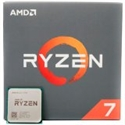 AMD CPU Desktop Ryzen 7 8C/16T 3700X (4.4GHz, 36MB, 65W, AM4) box with Wraith Prism cooler -- снимка