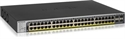 GS752TPP-100EUS, Суич Netgear GS752TP, 48 x 10/100/1000 PoE and 4 SFP, 48 x PoE+, 2nd generation SMART SWITCH, Budget 760W, static routing -- снимка