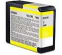 C13T580400, Epson Yellow (80 ml) for Stylus Pro 3800 -- снимка