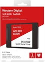"WDS100T1R0A, SSD WD Red SA500 NAS 1TB 2.5"" SATA III 3D NAND, read-write: up to 560MBs, 530MBs (5 years warranty) -- снимка"