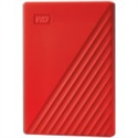 HDD External WD My Passport (2TB, USB 3.2) Red -- снимка