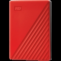 HDD External WD My Passport (4TB, USB 3.2) Red -- снимка