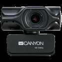 CANYON C6 2k Ultra full HD 3.2Mega webcam with USB2.0 connector, built-in MIC, IC SN5262, Sensor Aptina 0330, viewing angle 80°, with tripod, cable -- снимка