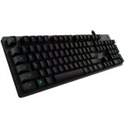 LOGITECH G512 CARBON LIGHTSYNC RGB Mechanical Gaming Keyboard with GX Red switches-CARBON-US INT'L-USB-IN -- снимка