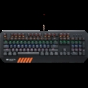 CANYON Wired multimedia gaming keyboard with lighting effect, 108pcs rainbow LED, Numbers 104keys, EN double injection layout, cable length 1.8M -- снимка